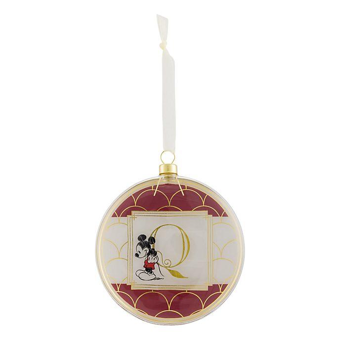 Disneyland Paris Hanging Ornament - Letter Q