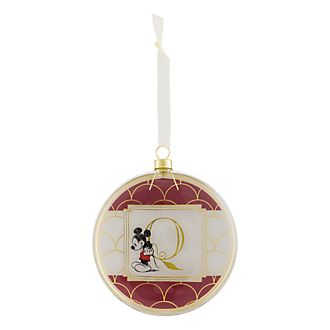 Disneyland Paris Hanging Ornament - Letter Q