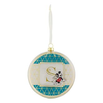 Disneyland Paris Hanging Ornament - Letter S