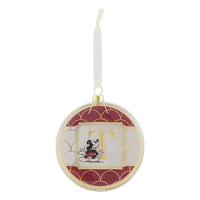 Disneyland Paris Hanging Ornament - Letter T