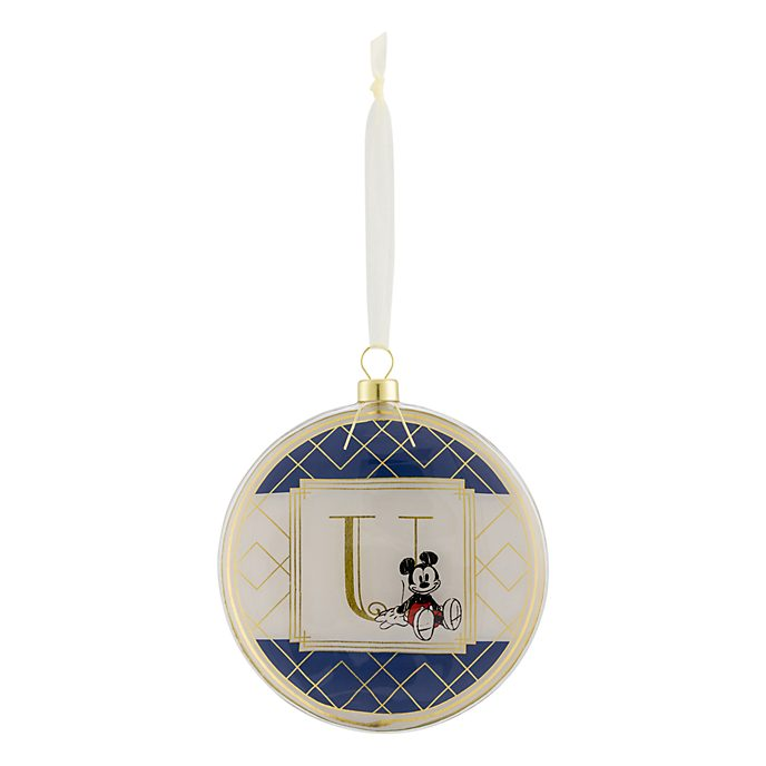 Disneyland Paris Hanging Ornament - Letter U