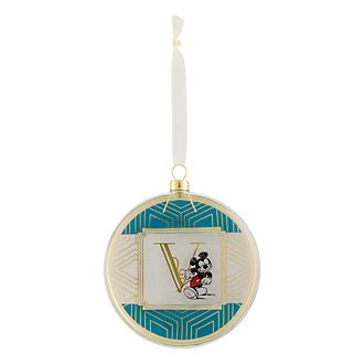 Disneyland Paris Hanging Ornament - Letter V
