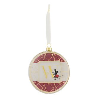 Disneyland Paris Hanging Ornament - Letter W