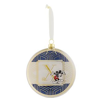 Disneyland Paris Hanging Ornament - Letter X