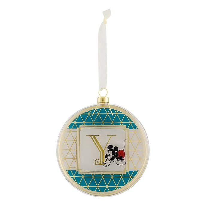 Disneyland Paris Hanging Ornament - Letter Y
