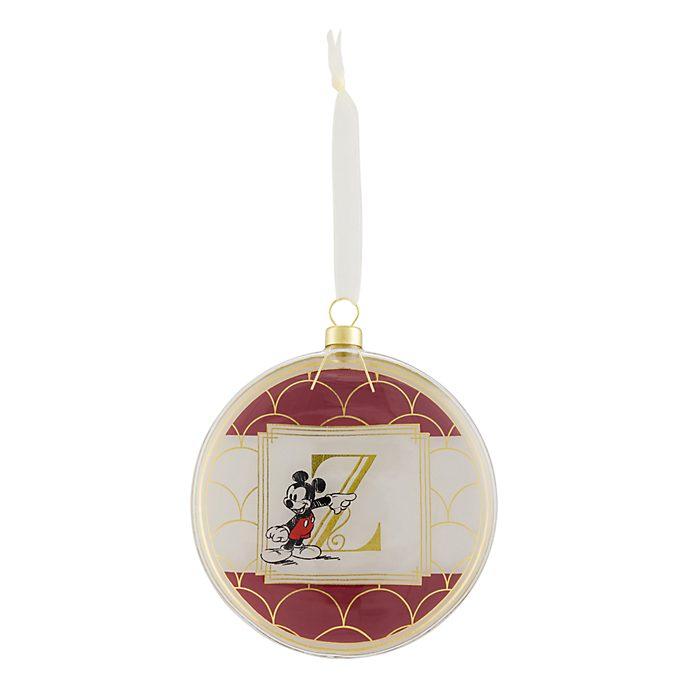 Disneyland Paris Hanging Ornament - Letter Z
