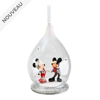 Disneyland Paris Décoration en édition limitée Mickey et Minnie à suspendre