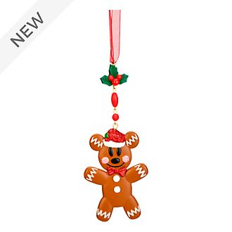 Disneyland Paris Mickey Mouse Gingerbread Hanging Ornament