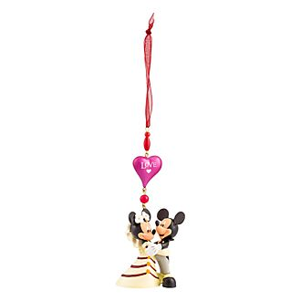 Disneyland Paris Mickey and Minnie Wedding Hanging Ornament