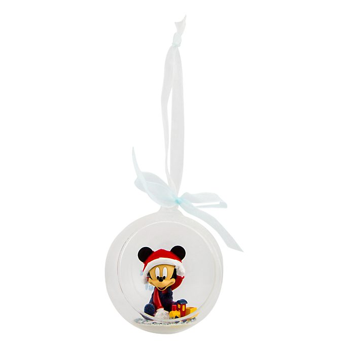 Disneyland Paris Mickey Mouse Christmas Bauble for Baby