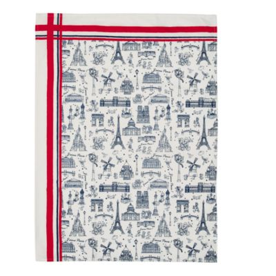 Disneyland Paris Cityscape Tea Towels, Set of 2