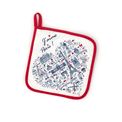 Disneyland Paris Cityscape Oven Glove and Pot Holder