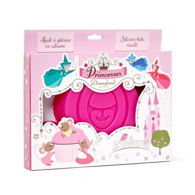 Disneyland Paris Disney Princess Carriage Silicone Cake Mould