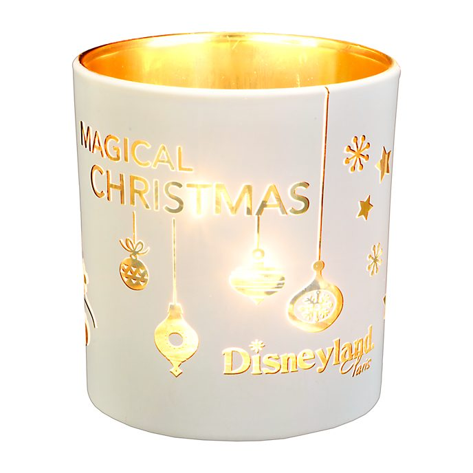 Disneyland Paris Bougeoir de Noël Mickey et Minnie