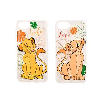 Disneyland Paris Simba and Nala Couple iPhone Case Set