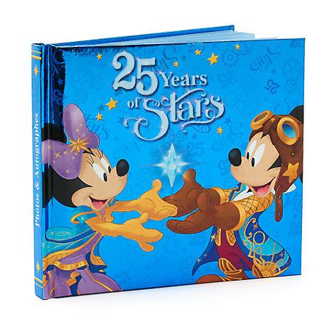 Carnet d'autographes 25e anniversaire de Disneyland Paris