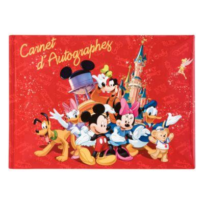Disneyland Paris Mickey And Friends Autograph Book