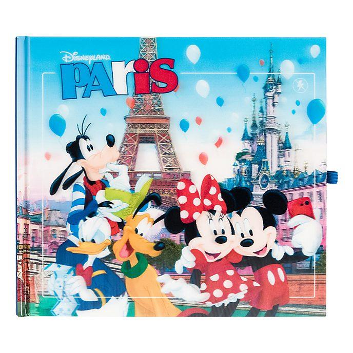 Carnet d'autographe et de souvenir Mickey et ses amis Disneyland Paris