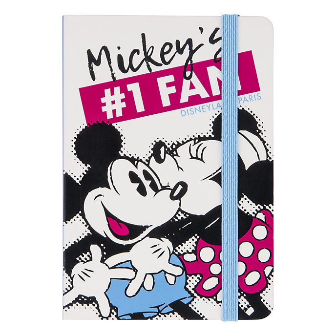 Disneyland Paris Mickey and Minnie A5 Notebook