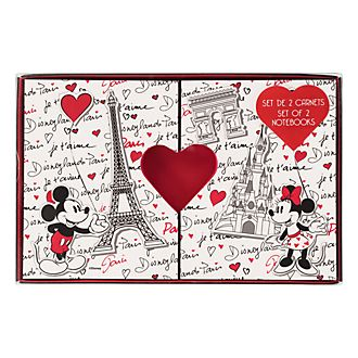 Disneyland Paris Paris Mon Amour Set of 2 Notebooks