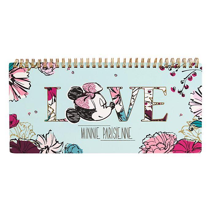Agenda hebdomadaire Minnie Parisienne Disneyland Paris