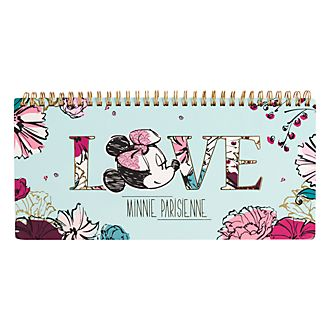 Disneyland Paris Minnie Parisienne Weekly Planner