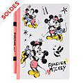 Disneyland Paris Carnet A5 et crayon Mickey et Minnie