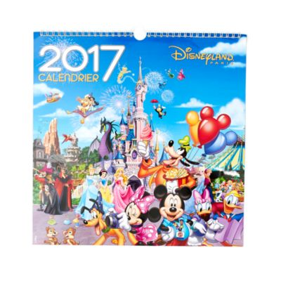 calendrier mural disneyland paris 2017. Black Bedroom Furniture Sets. Home Design Ideas