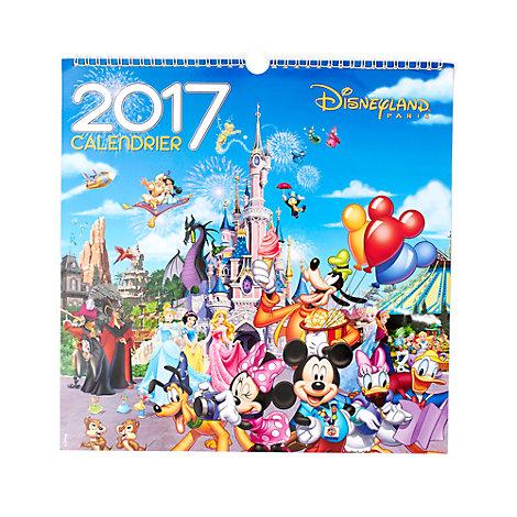 Calendrier mural Disneyland Paris 2017