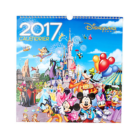 Disneyland Paris 2017 Wall Calendar