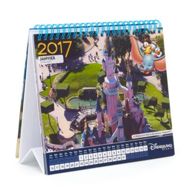 Disneyland Paris 2017 Desk Calendar
