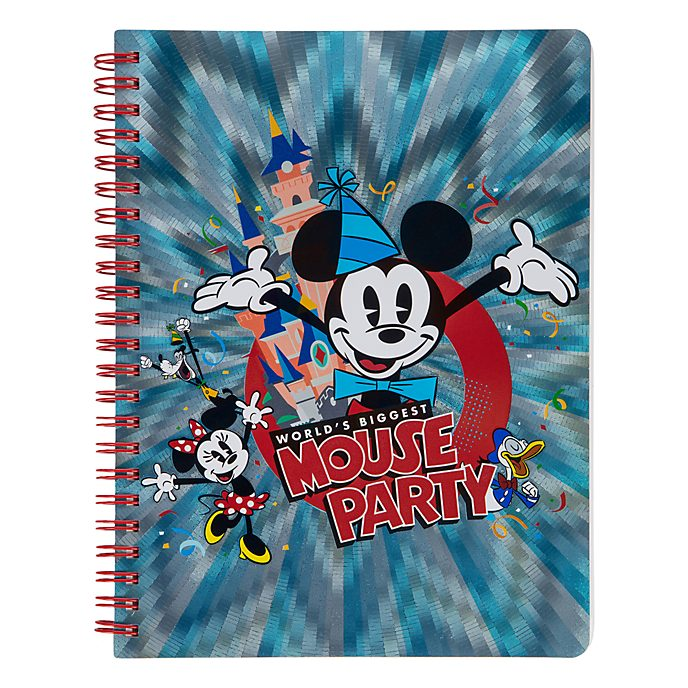 Disneyland Paris Mickey Mouse Party A5 Notebook