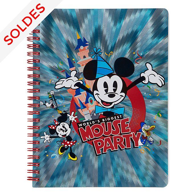 Disneyland Paris Carnet A5 Fête de Mickey