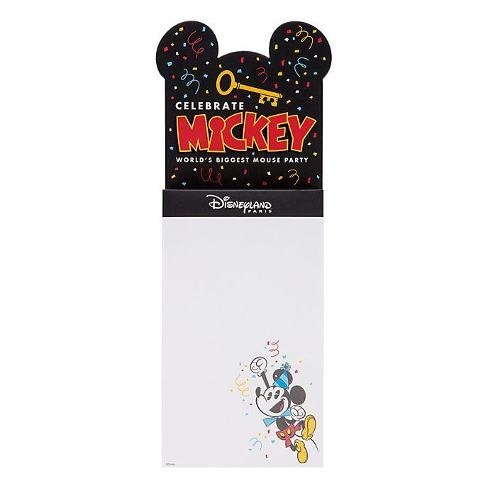 Disneyland Paris Liste de courses magnétique Mickey
