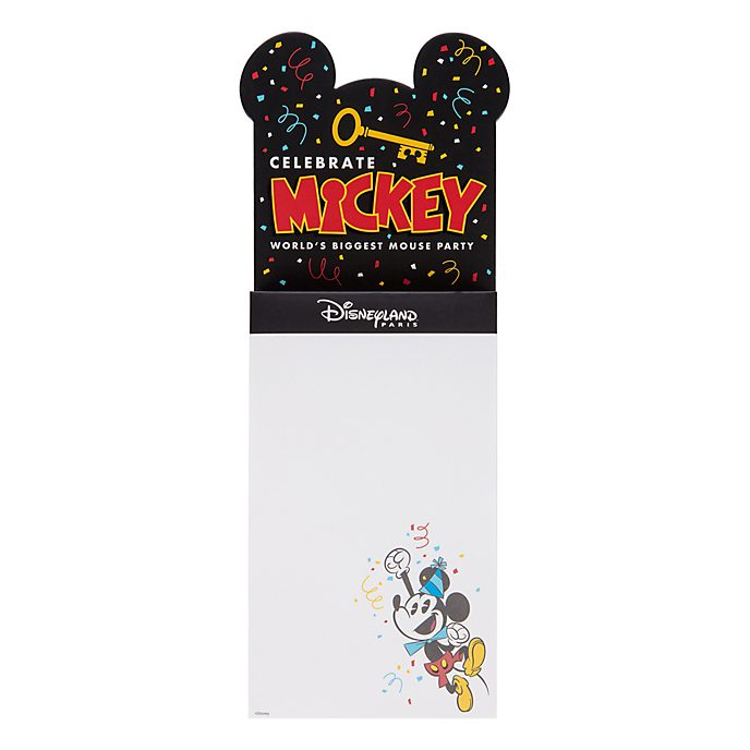 Disneyland Paris Mickey Mouse Magnetic Shopping List
