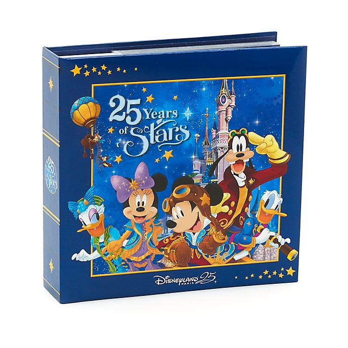 Album photo Mickey Mouse 25e anniversaire de Disneyland Paris