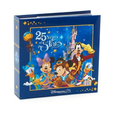 Disneyland Paris 25th Anniversary Mickey Mouse Photo Album