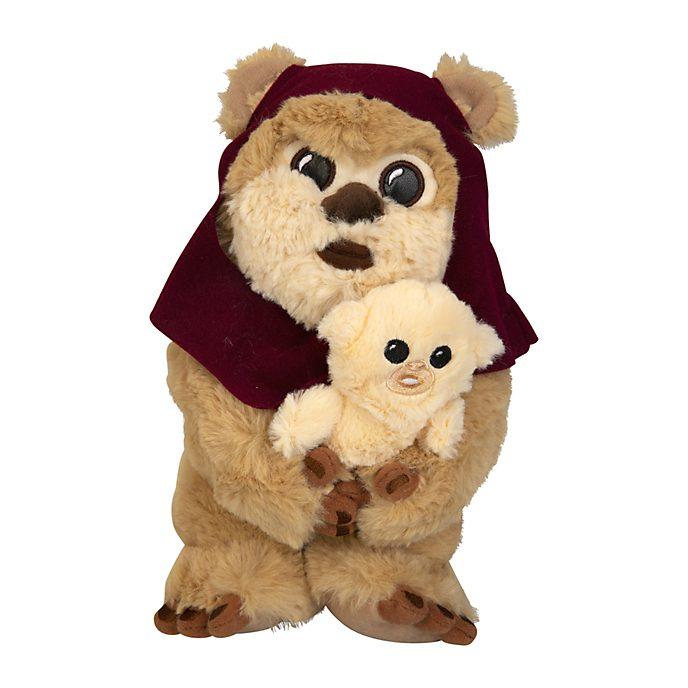 Disneyland Paris Peluche Ewok et son bébé de taille moyenne