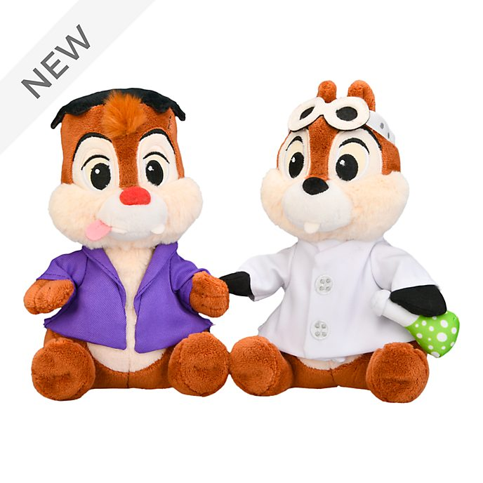 Disneyland Paris Chip 'n' Dale Halloween Soft Toy Set