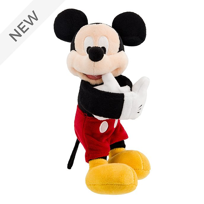 Disneyland Paris Mickey Mouse Snap Bracelet Mini Soft Toy