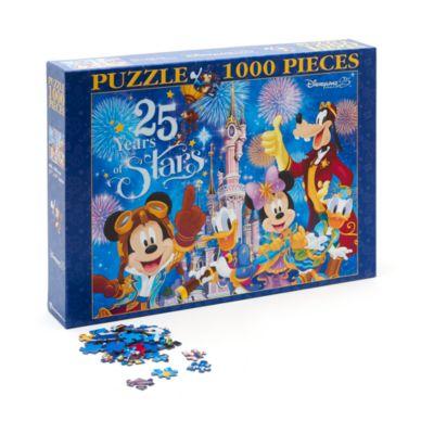 Puzzle 1000pièces 25e anniversaire de Disneyland Paris