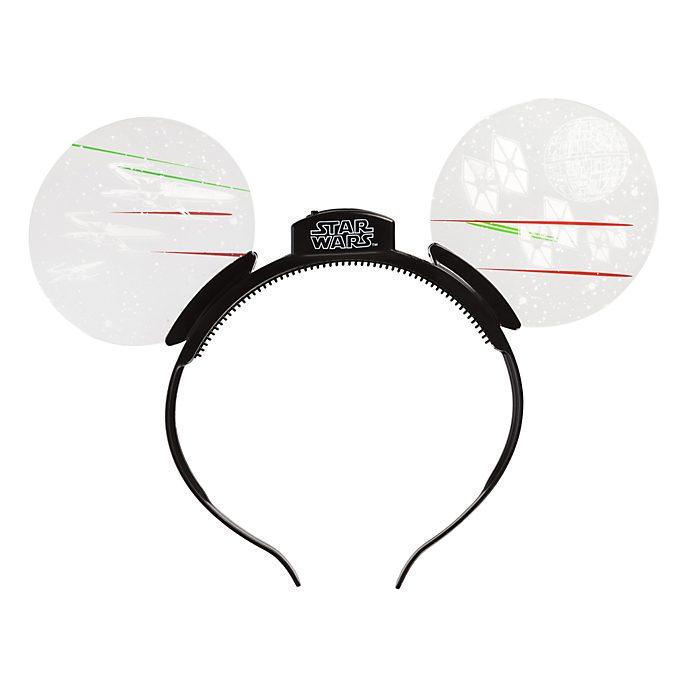 Disneyland Paris Star Wars Light-Up Mouse Ears Headband