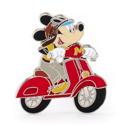 Mickey Mouse Scooter Pin, Disneyland Paris