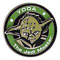 Pin's médaillon Yoda de Stars Wars Disneyland Paris