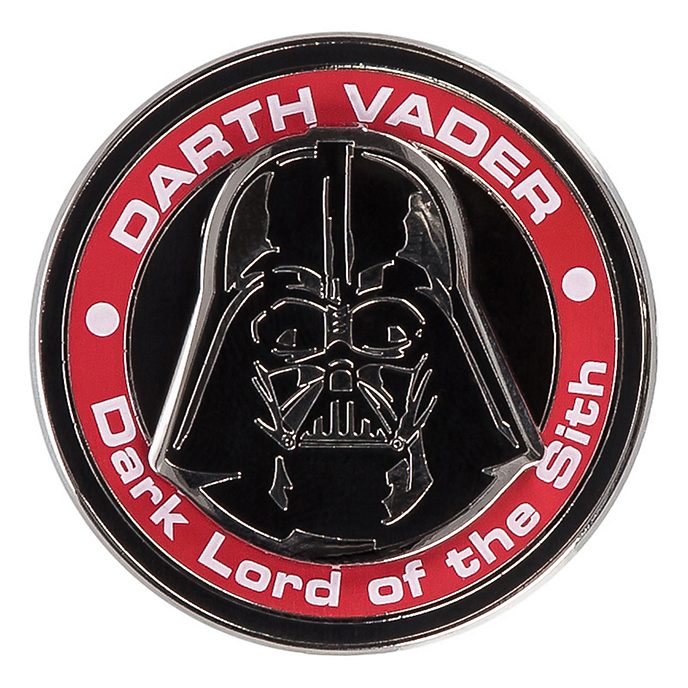 Pin's médaillon Dark Vador de Stars Wars Disneyland Paris