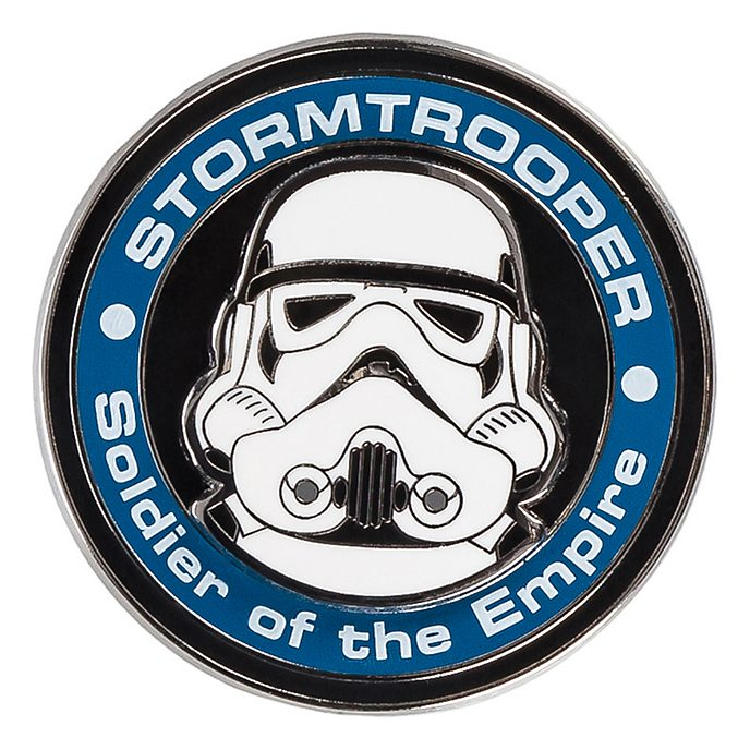Pin's médaillon stormtrooper de Stars Wars Disneyland Paris