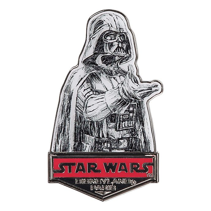 Disneyland Paris Star Wars Darth Vader Sketch-Style Pin