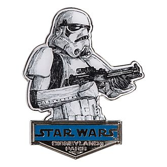 Disneyland Paris Star Wars Stormtrooper Sketch-Style Pin