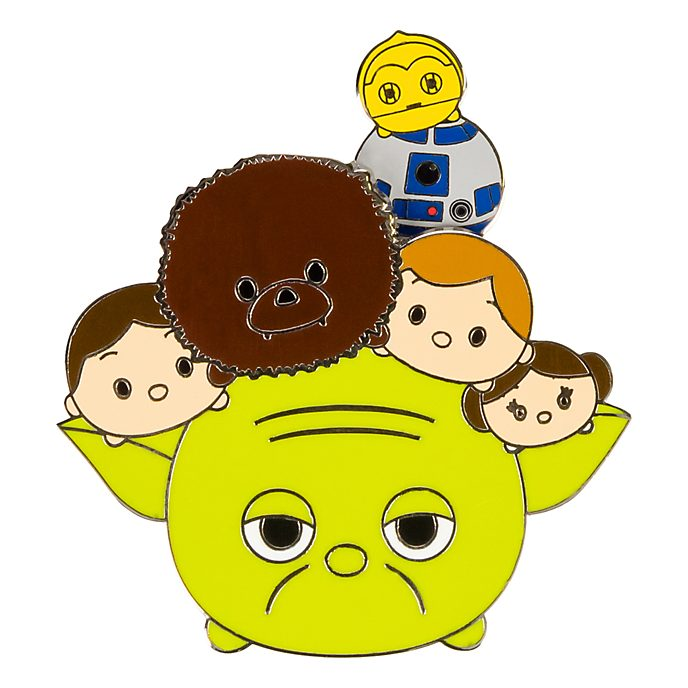 Disneyland Paris Star Wars Heroes Tsum Tsum Pin