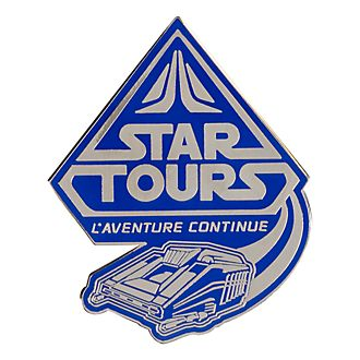 Disneyland Paris Pin's Attraction Star Tours, Star Wars